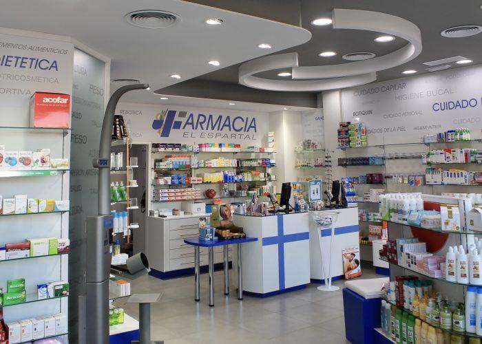 gondolas farmacia